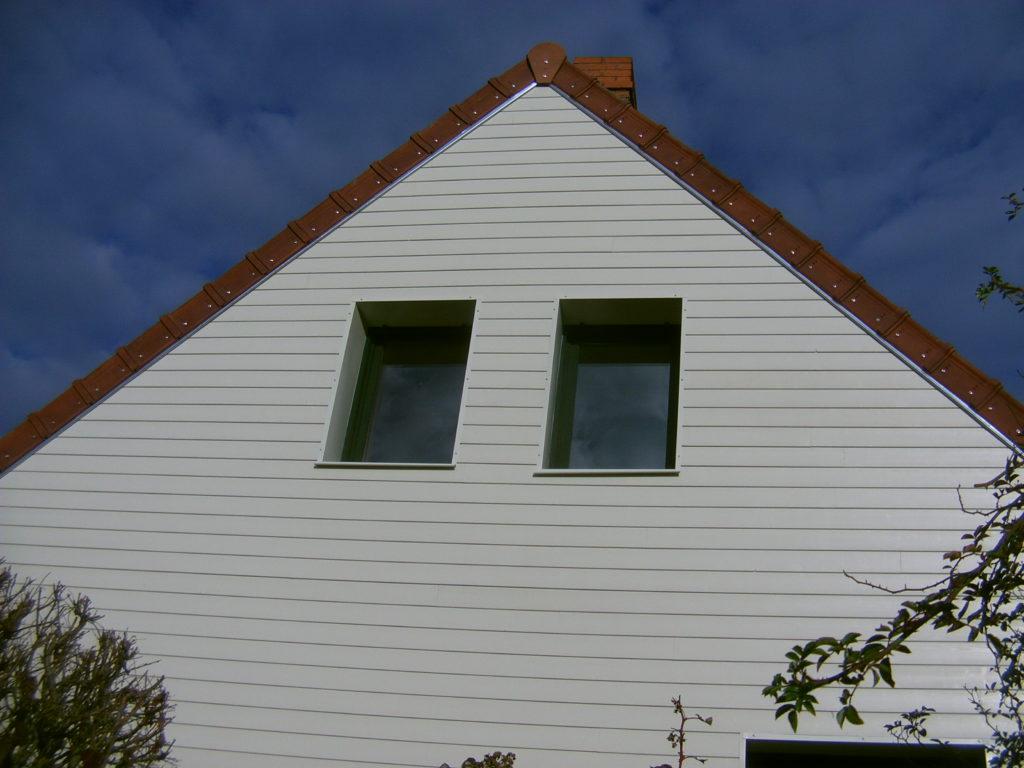 chantier isolation extérieure pignon
